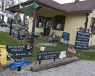 LISA-ANN ISHIHARA | THE VINDICATOR Mohawk Valley Fine Arts located on the northwest corner of state Route 224 and Route 534 in Berlin Center has been the personal studio of artist Joseph Donnelly for 14 years.