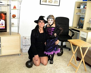 Allison Smith of Boardman with her daughter, Madalyn.