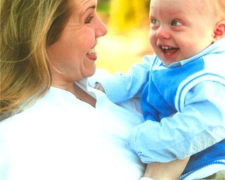 Rachel Camuso of Canfield and her son, George Robert Camuso.