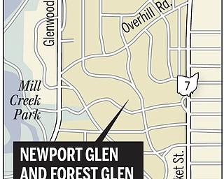 Glen area map