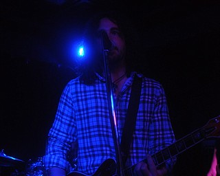 Todd Kaden of Asleep at Cedars Lounge, Saturday, May 8, 2010.