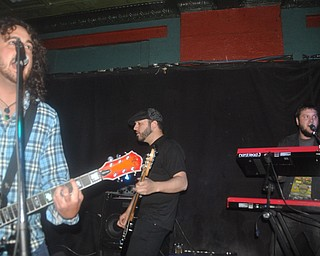 Asleep at Cedars Lounge, Saturday, May 8, 2010.