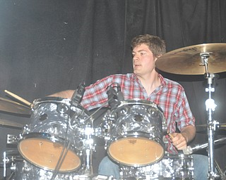 Nick Kloss of Asleep at Cedars Lounge, Saturday, May 8, 2010.