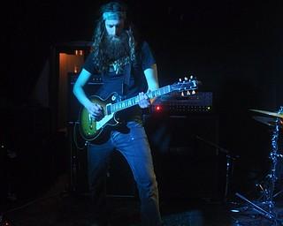 Jon Dean of Asleep at Cedars Lounge, Saturday, May 8, 2010.