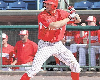 Youngstown State senior baseball player Tom Clayton, a Poland native, ranks fi fth in the country in batting average with a .452 mark. He was a career .274 hitter for the Penguins before this season.