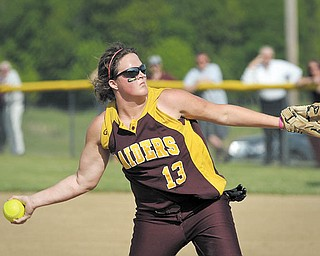 South Range junior Madison Yanek is 11-1 when she starts on the mound and has an earned-run average of 0.758. She also plays third base when freshman Carly DeRose pitches.