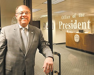David C. Sweet is ending his tenure as president of Youngstown State University as of June 30. He announced his plans to retire last year. He and his wife, Pat, plan to move to Charlotte, N.C., to be close to members of their family.