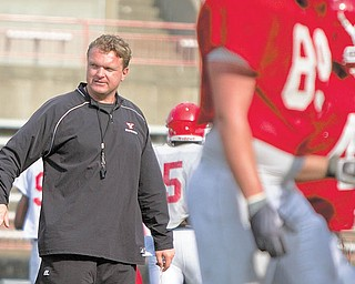 YSU football coach Eric Wolford plans to give players who fl y under the radar a chance to play under the lights with a Monday evening scrimmage following the regular afternoon practice.