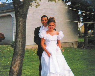 Christina Scullen of Campbell and Rafael Ferrer Jr. of Campbell were attending the 1997 Senior Prom at Campbell Memorial High School.