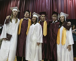 ROBERT K. YOSAY | THE VINDICATOR..at Boardman High Schools Graduation 2010 held at the school -30