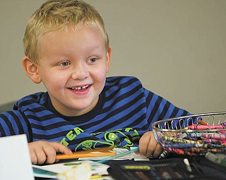 Mikey Howard, 5, of Boardman, and his dad, Mike, will speak before Congress on behalf of children's pediatric