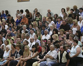 ROBERT K. YOSAY | THE VINDICATOR..proud parents and friends at Lowellville High School gym - the glass of 2010 - graduated Sunday afternoon-30