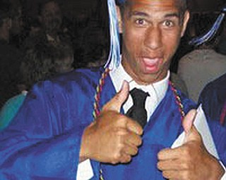 Jeff Gales graduated from Hubbard High School on May 28.