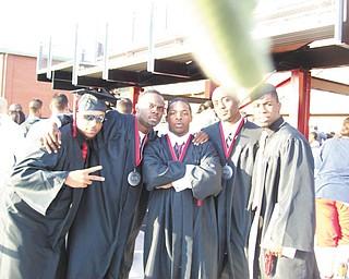 Chris Copeland, Mike Brooks, Reginald Ware, Dario Bivens and Nate Dawson are graduates of Campbell Memorial High School.