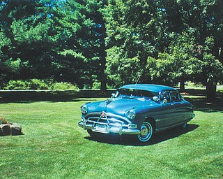 Bert and Naomi Liston of North Jackson are the proud owners of this 1951 Hudson Hornet.