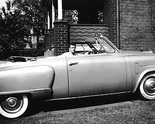 Anthony Julian of Youngstown sent us this picture of his 1950 Studebaker convertible from his high school days.