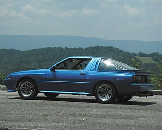 This restored 1987 Chrysler Conquest TSI is owned by William Gains of Youngstown.
