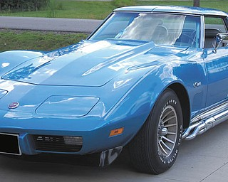 Bill Sfara of Canfield owns this 1975 Corvette Stingray.