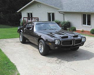 This is Luke Leffler's 1970 Pontiac Firebird Formula 400 Ram air. He lives in Kent.