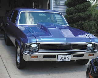 This 1968 Chevy Nova belongs to Ralph C. Ford of Canfield.