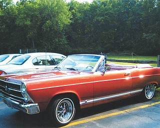 This 1966 Ford Fairlane convertible is owned by Jan and Larry Green of Boardman.