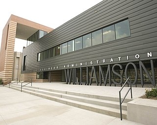 ROBERT K. YOSAY | THE VINDICATOR...The new Williamson College of Business Administration will provide a professional business education environment, a resource for the regional business community and a link between YSU and the cityÕs downtown.. ....-30-