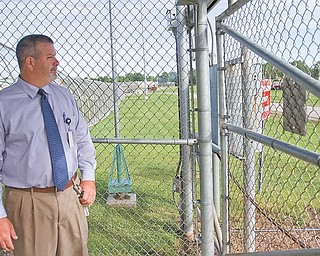 The man in charge of the state's maximum-security prison on state Route 616 in Youngstown is Warden David Bobby.