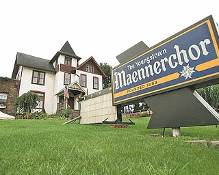 The 148-year-old Youngstown Maennerchor building on Mahoning Avenue suffered a partial roof collapse last week, causing the structure to be condemned by city officials.