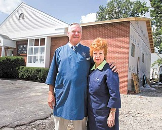 Dr. Daniel Ebert and his wife, Ruth, opened Ebert Animal Hospital on Southern Boulevard in 1965. The hospital is expanding to add an exam room, larger reception area and handicap-accessible bathroom — a nearly 30 percent increase in building size. The project should be finished Oct. 1.