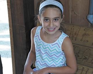 Hailey Kadivar of Bradenton, Fla. She is the granddaughter of Bob and Joan Stroh of Poland.