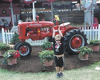 Tyler Kadivar of Bradenton, Fla., is the grandson of Bob and Joan Stroh of Poland.