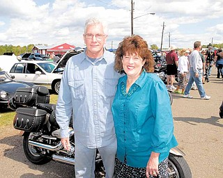 . Pastor Frank Glenn and his wife Linda Glenn put on the ox roast every year.
