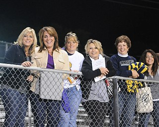 Rocket moms and fans Jeanne Depasquale, Michele Amendola, Tonya Boggia, Theresa DeFrank, Chris Partika and Mary Beth Partika