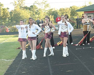 Liberty majorettes -Photos from the Liberty vs Campbell football game
