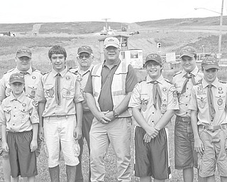 Boy Scout Troop 119, New Springfield Church of God, New Springfield, Ohio, recently attended the Boy Scouts of America National Jamboree at Fort A.P. Hill, Va. the trip marked the 100th anniversary of Scouting in the United States. Scouts from all over the United States and world gathered to share memories. Fifteen members of Troop 119 were able to make the trip to Virginia because of the generosity of Waste Management Mahoning Landfill. Troop 119 Scouts worked diligently throughout the year to raise the funds to attend both summer camp and the National Jamboree. However, they fell short of their goal. Waste Management Mahoning Landfill came forth, providing the necessary funding.