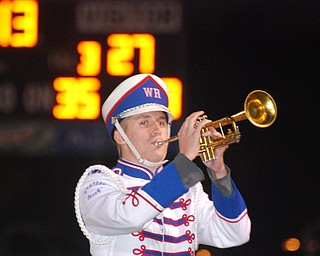 Brain Stahl plays trumpet for Western Reserve