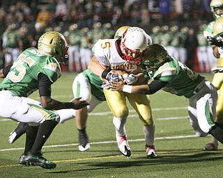 ROBERT K. YOSAY | THE VINDICATOR..Ursuline vs Mooney at YSU stadium ...  --30-..