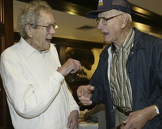 WWII Navy vets Charles Butler and Frank R. Swast reunite after more than 60 years.