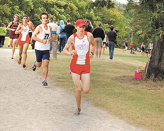 Senior Jimmy Ramson has been one of the Penguins' most consistent runners all season, finishing in the team's top three at every meet.