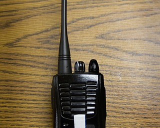 Geoffrey Hauschild|The Vindicator.6.2.2010.A walkie talkie belonging to OVTC Director of Operations Bob Pavlich lays on a table at OVTC.