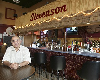ROBERT K. YOSAY | THE VINDICATOR..Stevenson School in Masury  has found new life thanks to Moe Hejazi  of Greenville- as he turns the old school into an neat restaurant in Masury-..  --30-..