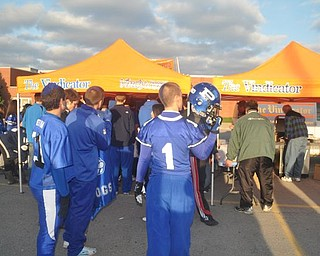 Canfield/Poland Blitz Tailgate Party. Friday, Oct. 29, 2010.