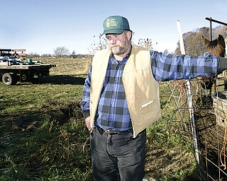 Bob Rea, a farmer in Salem Township in Columbiana County, has helped form a group of landowners who are negotiating with drilling companies for rights to natural gas on their properties.