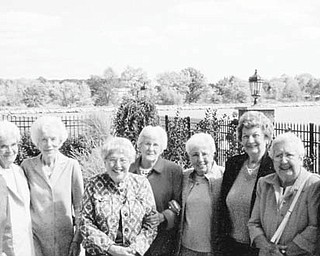 Eleven members of St. Elizabeth Hospital School of Nursing Class of 1947 met for a luncheon recently at Drake's Landing, sharing 66 years of friendship. In attendance were, from left, Marcella Eddy Burgess, Martha Jane Richards Benedict, Kathryn Callahan Kennedy, Regina Marado Holloway, Patricia O'Neil Roche, Jean McKenzie Baun, Adeline Adornato Duncko, Mary Lou Peachy Morley, Kathryn Bebackwa Sekula, Lois Allar Miller and Shirley Stein Deckant.