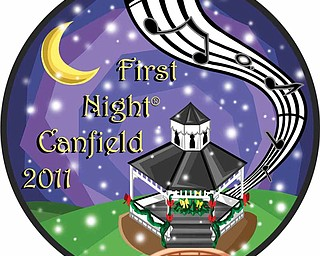 First Night 2011 Button design