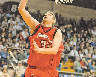 Youngstown State senior forward Dan Boudler has given the Penguins a boost off the bench, averaging four points and four rebounds per game.