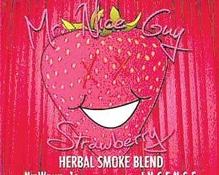Mr. Nice Guy is classified as an herbal smoke-blend incense and is sold in smoke shops to customers 18 and older.