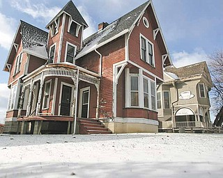 The Thompson/Sacherman House on Lincoln Avenue on the Youngstown State University campus was slated for demolition but has been given a stay to allow a committee comprised of university and community members to research possible alternatives.