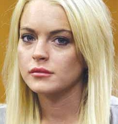 Lindsay Lohan is shown in court in Beverly Hills, Calif. Lohan is being investigated for possible misdemeanor battery against a female staffer at a rehab facility where she is receiving treatment. Deputy Herlinda Valenzuela with the Riverside County Sheriff's Department says deputies responded to a Betty Ford Center facility on Dec. 12 for an incident involving Lohan.