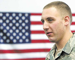 Air Force Reserve Staff Sgt. Andrew Straub recounts his experiences during a four-month deployment to Afghanistan with the 910th Airlift wing.